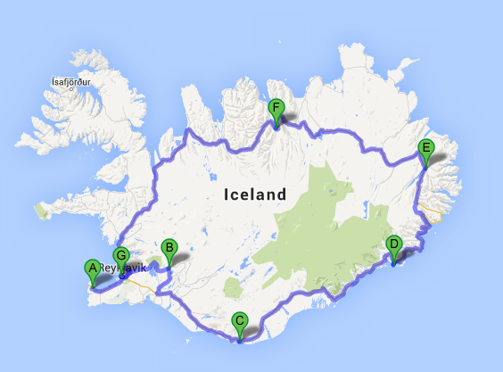 Laugarvatn & South Iceland ~ #IcelandChallenge Day 1